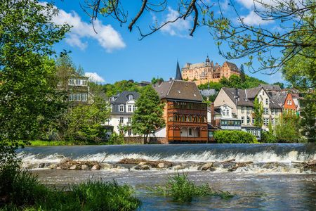 The Lahn-Cycling-Trail from Marburg to the Loreley