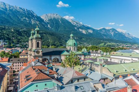 Inn Cycle track - Austrian and Bavarian highlights